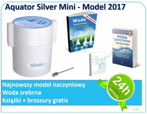 Jonizator wody Aquator MINI Silver - model 2017
