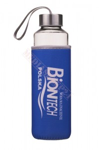 Butelka szklana do wody 500 ml - bidon
