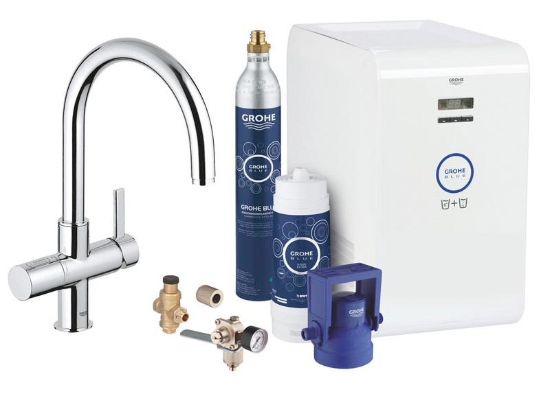 5252409367c6fd Grohe Blue Professional - bateria z filtrem wody i wodą gazowaną